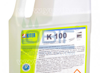 Щелочное средство K100 3 л. для духовок, гриля, кухонных плит фото