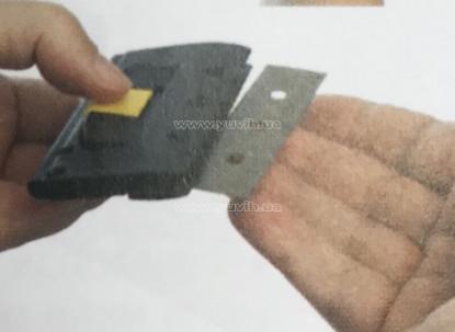Безопасный скребок для стекла Glassman Vermop фото