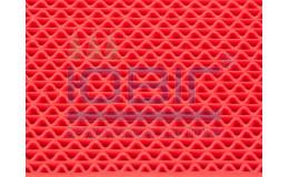 Антискользящее покрытие Зигзаг, цвет красный, пог.м. фото