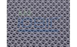 Антискользящее покрытие для влажных помещений Зигзаг, цвет серый, пог.м. фото