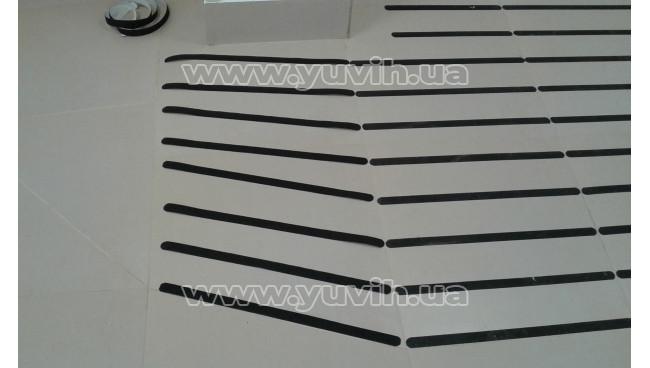 Антискользящая лента упругая, черная фото