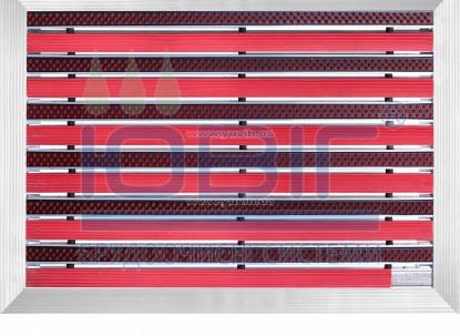 """Грязезащитная решетка """"Лен"""" 70х50 см, цвет, наружное обрамление фото"""
