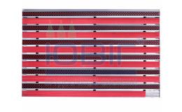 """Грязезащитная решетка """"Лен"""" 60х40 см, цвет, внутреннее обрамление фото"""