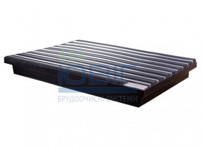 Поддон пластиковый 60х40 см для грязезащитных решеток фото