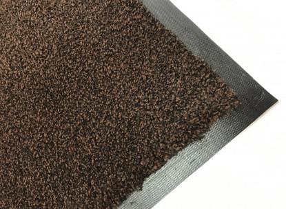 Грязезащитный коврик коричневый 120х200 см. Super Nytex фото