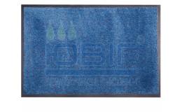 Придверный коврик 60х90 см. голубой Super Nytex фото