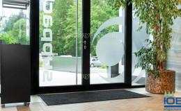 Супервпитывающий входной коврик EcoAbsorb серый фото