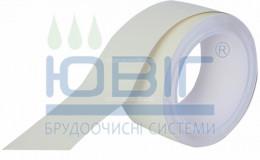 Фотолюминесцентная лента для маркировки выхода Белая, рулон 10 п.м. фото