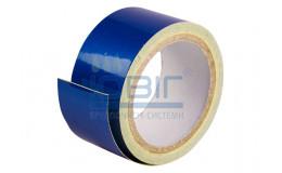 Светоотражающая лента Синяя, рулон 10 п.м. фото