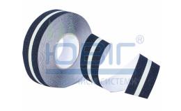 Антискользящая лента, Черная с люминесцентной полосой, стандартная зернистость, рулон 18.3 м. фото