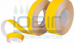 Антискользящая лента Грубая зернистость Желтая пог. м. фото
