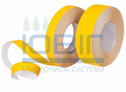Антискользящая лента Safety-Grip Heskins, грубая зернистость, желтая, пог. м. фото