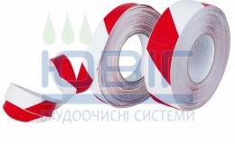 Лента антискользящая Heskins Красно-Белая пог.м. фото