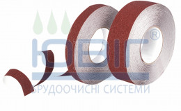 Антискользящая лента Heskins Коричневая Стандартная Рулон фото