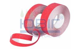 Антискользящая лента стандартная зернистость, красная, погонный метр фото