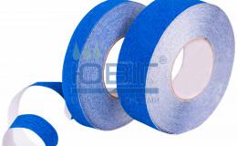 Антискользящая лента стандартная зернистость, синяя, погонный метр фото