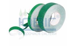 Антискользящая лента Safety-Grip Heskins, стандартная зернистость, зеленая, погонный метр фото