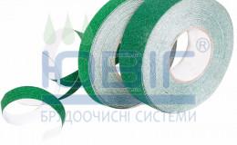 Антискользящая лента Heskins Зеленая Стандартная зернистость пог. м. фото