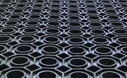 Противоскользящее резиновое покрытие 100х150х1,3 см  фото