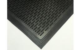 Резиновый коврик Скребок 90х150х1,0 см. фото