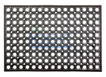Резиновый коврик Сота 60х40х0,8 см фото
