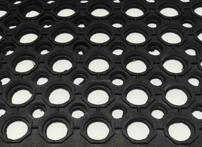 Резиновый коврик Сота 60х90х1,2 см. фото