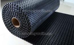 Резиновое покрытие для пола Рулон 100х1000х1,3 см фото