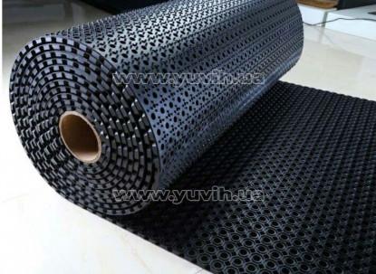 Резиновый коврик СОТА рулон 100х1000х1,3 см фото