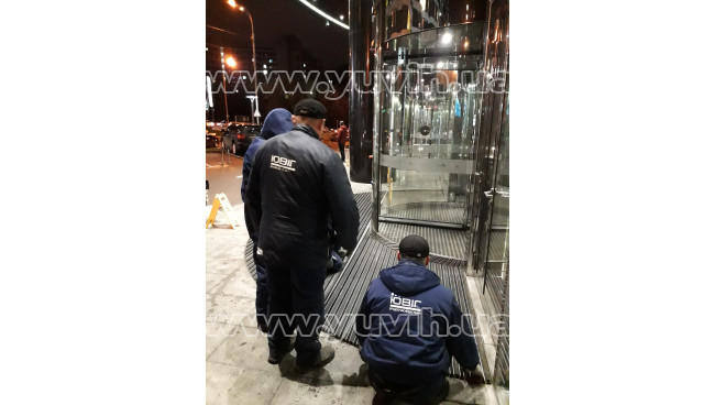 Грязезащитная решетка для IQ БЦ г.Киев фото